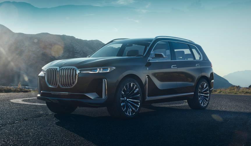 BMW、ラージSUVのコンセプト「X7」を公開|BMW