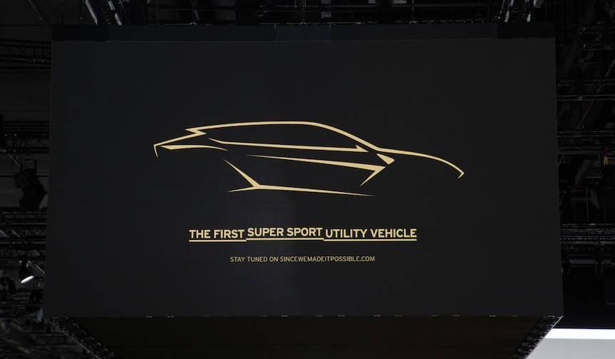 ランボルギーニのSUV、年内に発表|Lamborghini