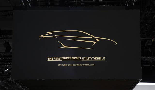 ランボルギーニのSUV、年内に発表 Lamborghini