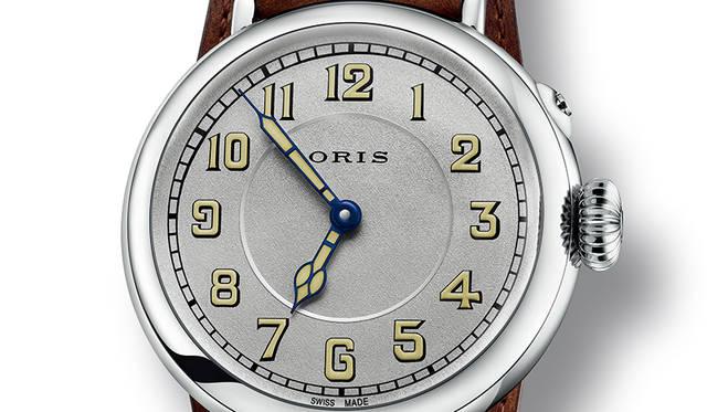 1917年に製造されたオリス初の腕時計を、現代技術を用いて完璧に復刻|ORIS