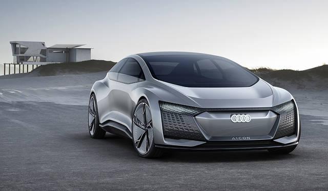 アウディが2台の自動運転コンセプトカーを発表|AUDI