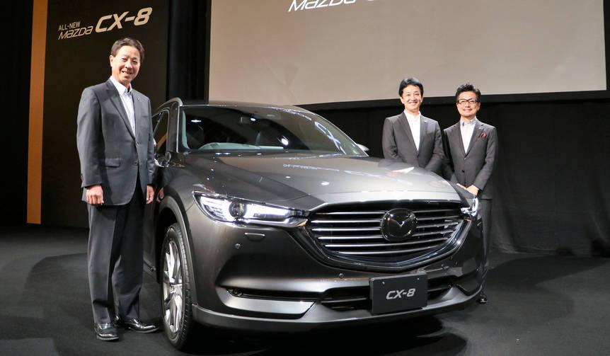 マツダ新フラッグシップSUV「CX-8」予約開始|MAZDA