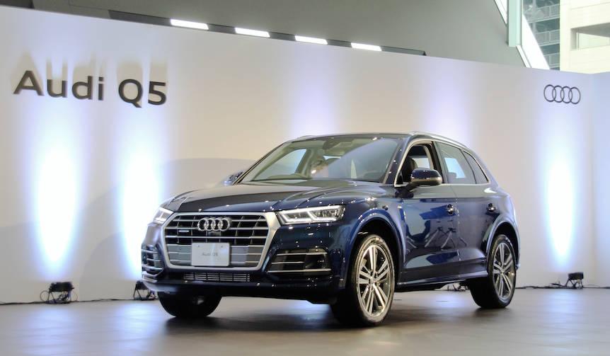 フルモデルチェンジした新型アウディQ5、日本上陸 Audi