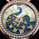 ハイジュエラーが贈る新たな「ディーヴァ ドリーム」は、孔雀が舞うタイムピース ギャラリー|BVLGARI