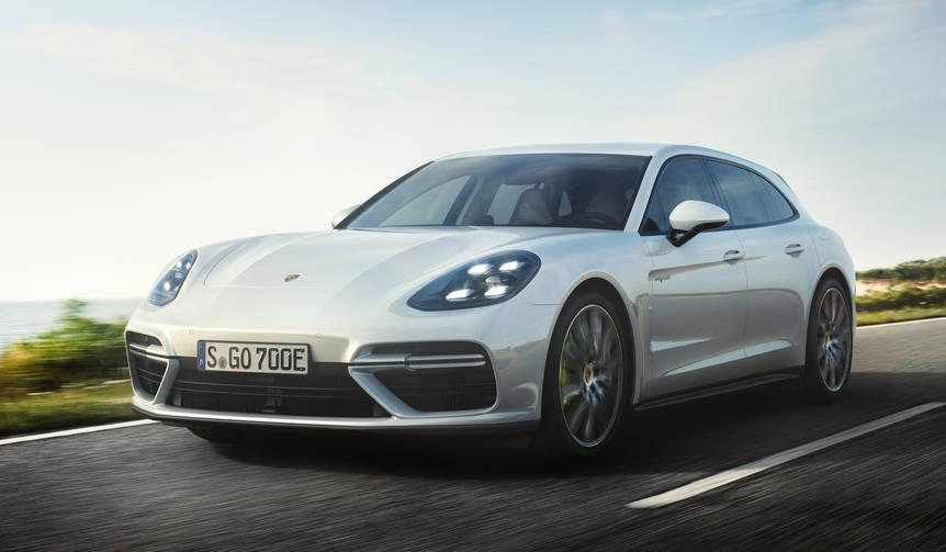 パナメーラ スポーツツーリスモにターボとハイブリッドの新モデル|Porsche