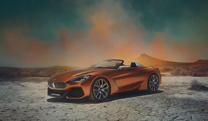 「コンセプトZ4」など5モデルをアジア初披露|BMW