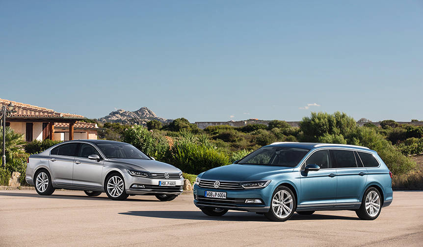 VWがディーゼルエンジン搭載「パサート」の日本導入決定|Volkswagen