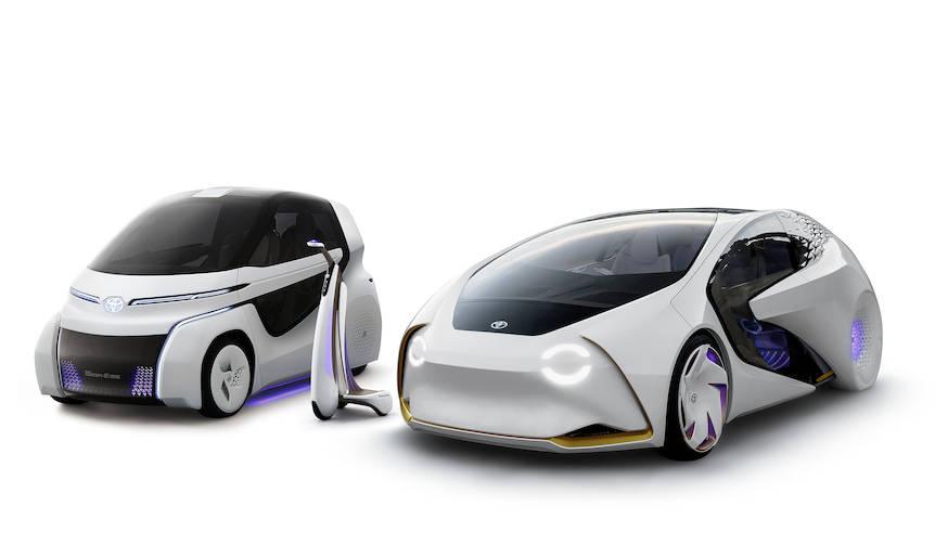 コンセプト・アイに2モデルを追加し、東京モーターショーで披露|Toyota