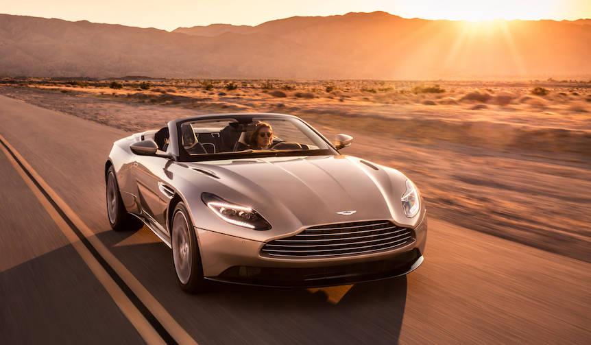 アストンマーティンDB11にコンバーチブル「ヴォランテ」を追加|Aston Martin