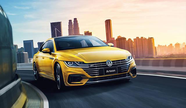 最上級4ドアクーペ「アルテオン」日本上陸|Volkswagen