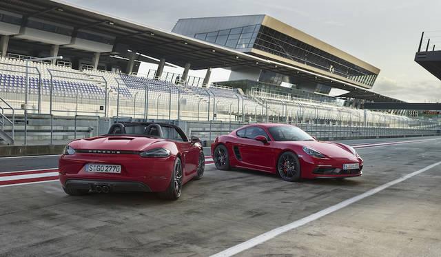 ポルシェ ボクスター/ケイマンに高性能なGTSを追加|Porsche