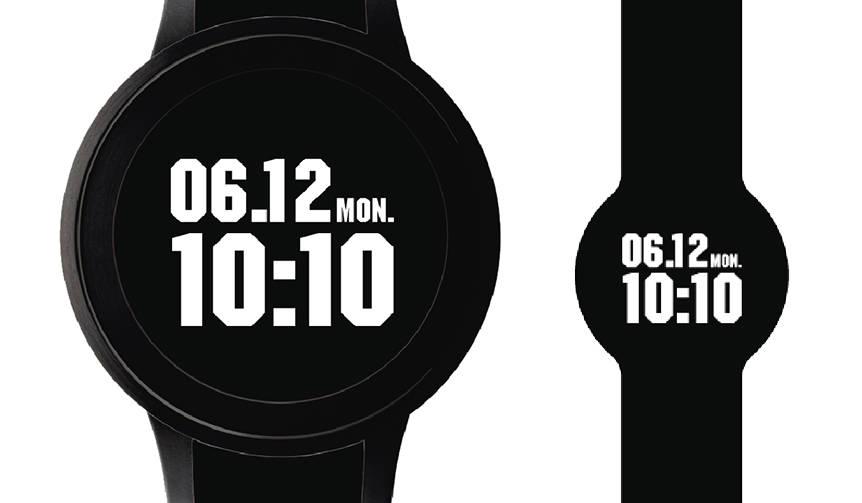 テクスチャー自在のディスプレイウォッチ「FES Watch U」がDJ DARUMAとコラボ|Sony