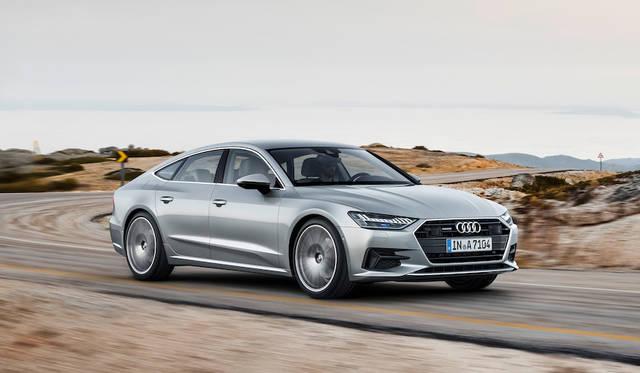 全車にマイルドハイブリッドを標準装備した新型A7スポーツバック Audi