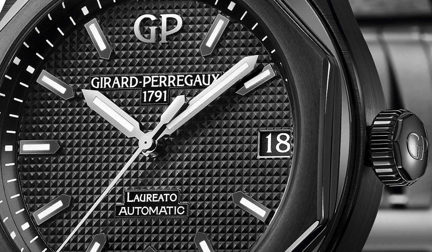この艶、そして、この凄み。ロレアート42mmブラックセラミックモデル|GIRARD−PERREGAUX