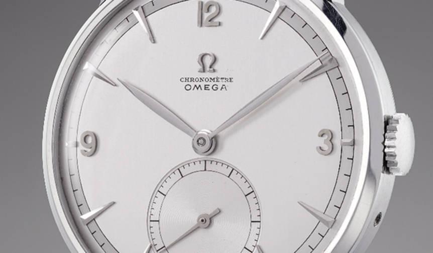 オメガ「1947製トゥールビヨン」1,428,500スイスフラン(約1.6億円)で落札|OMEGA