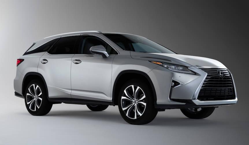 レクサスRXの3列シート仕様を公開|Lexus