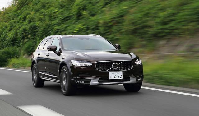 ボルボの新型V90 クロスカントリーに試乗 Volvo