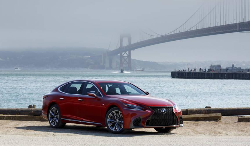 新型レクサスLSを米国で先行試乗 Lexus