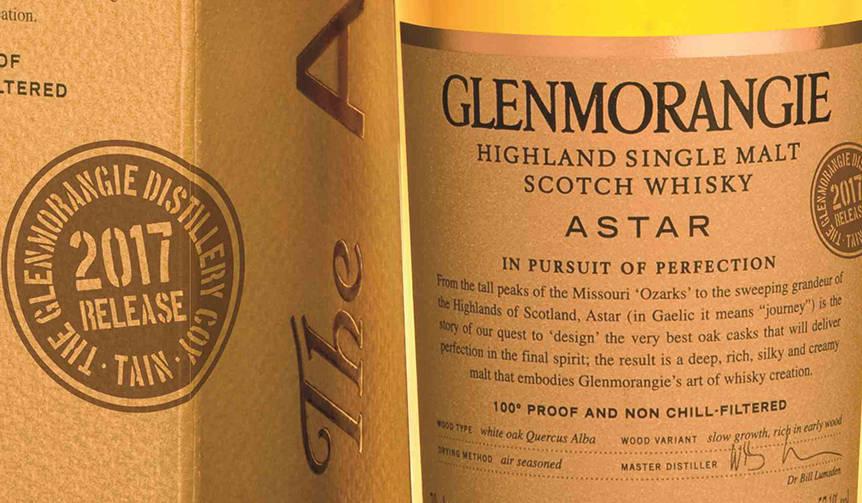 伝説のウイスキー「グレンモーレンジィ アスター」が9年ぶりに復活 GLENMORANGIE