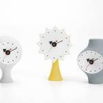 ジョージ・ネルソンが1950年代にデザイン。幻の陶器製時計が製品化|Vitra