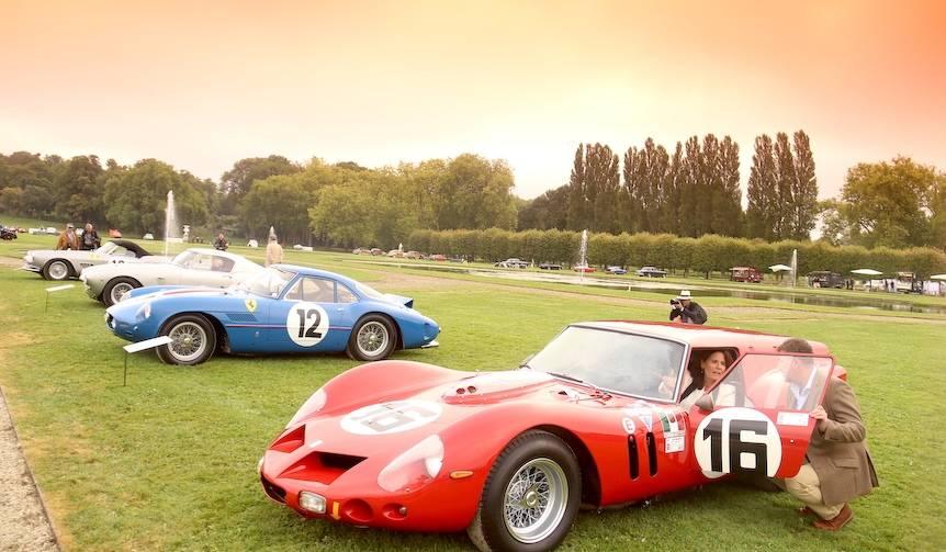 古典車と過ごす優雅な週末|Chantilly Art & Elegance Richard Mille