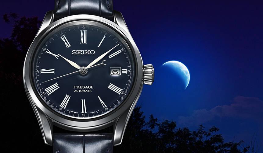 SEIKO|「セイコー プレザージュ」に誕生した、凛とした佇まいの濃紺モデル