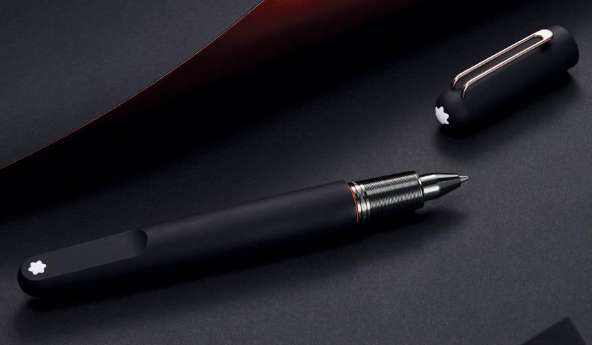 マットブラックのシックな誘い。モダニズムを体現する筆記具コレクション|MONTBLANC