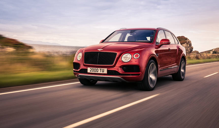 ベンテイガにV8エンジン搭載モデルが登場|Bentley