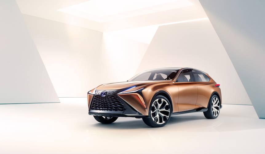 レクサスのフラッグシップクロスオーバーコンセプトをデトロイトで初披露|Lexus