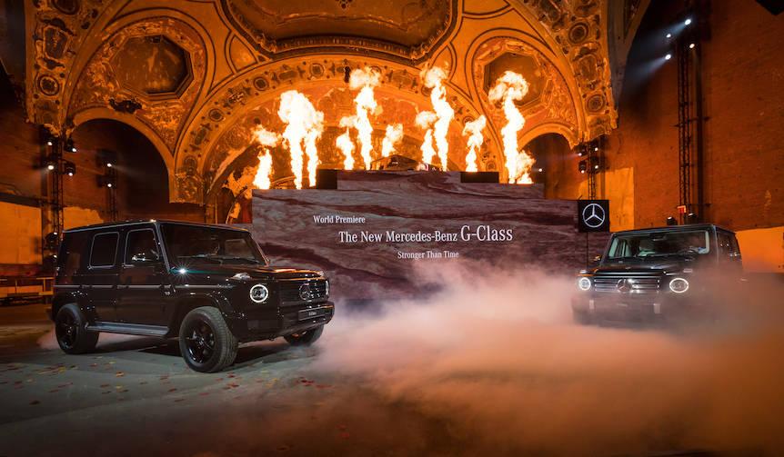 メルセデスGクラス、40年ぶりのフルモデルチェンジ|Mercedes-Benz
