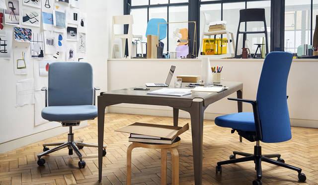 オフィス環境の改善が謳われる今日。ワークフローを加速させるオフィスチェアが登場|Vitra