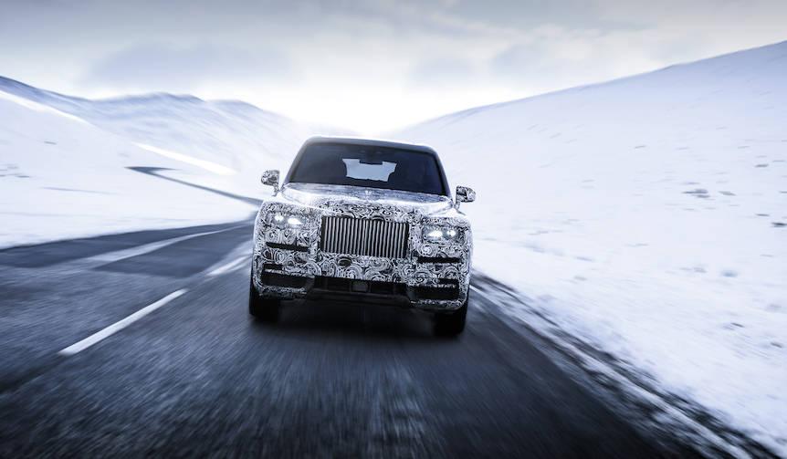 ロールス・ロイスの新型SUV、その名は「カリナン」|Rolls-Royce