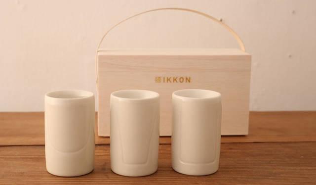カップを替えると不思議! お酒の風味が変化する3種類のぐい飲み|IKKON
