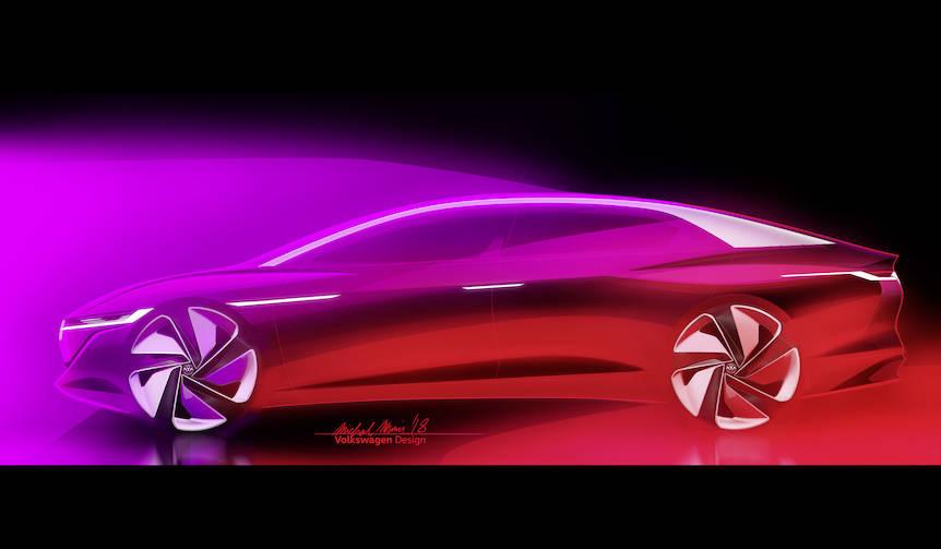 フォルクスワーゲン「I.D. Vizzion」をジュネーブショーで世界初披露|Volkswagen