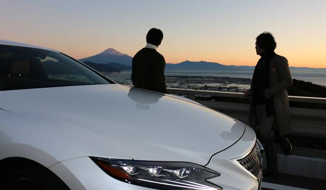 一通のインビテーションから始まったレクサス LSの「本能」をめぐる旅|Lexus