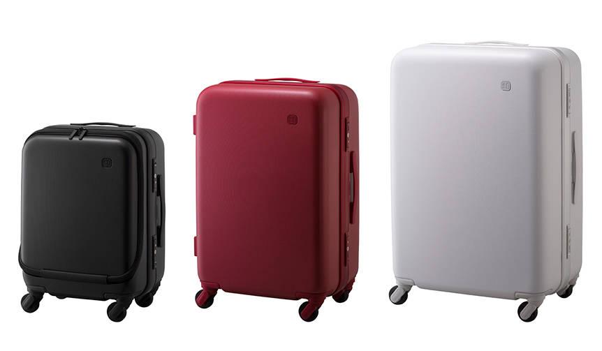 走行時のタイヤノイズを約75%カット。老舗メーカーと協業したスーツケース ±0