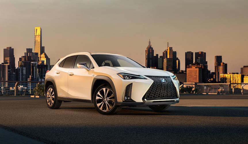 コンパクトクロスオーバー「UX」をジュネーブで世界初披露|Lexus