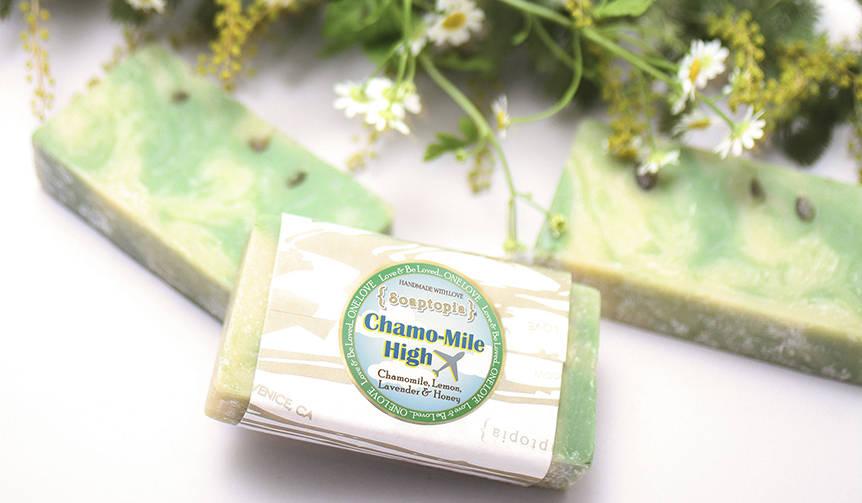 敏感になる春の揺らぎ肌を優しく洗い上げる洗顔ソープ Soaptopia