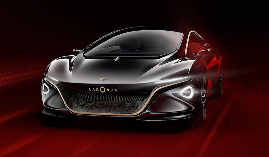 アストンのEV「ラゴンダ ビジョンコンセプト」発表 Aston Martin