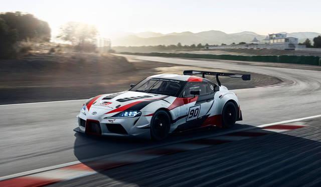 トヨタ「スープラ」がレーシングコンセプトとして復活 Toyota