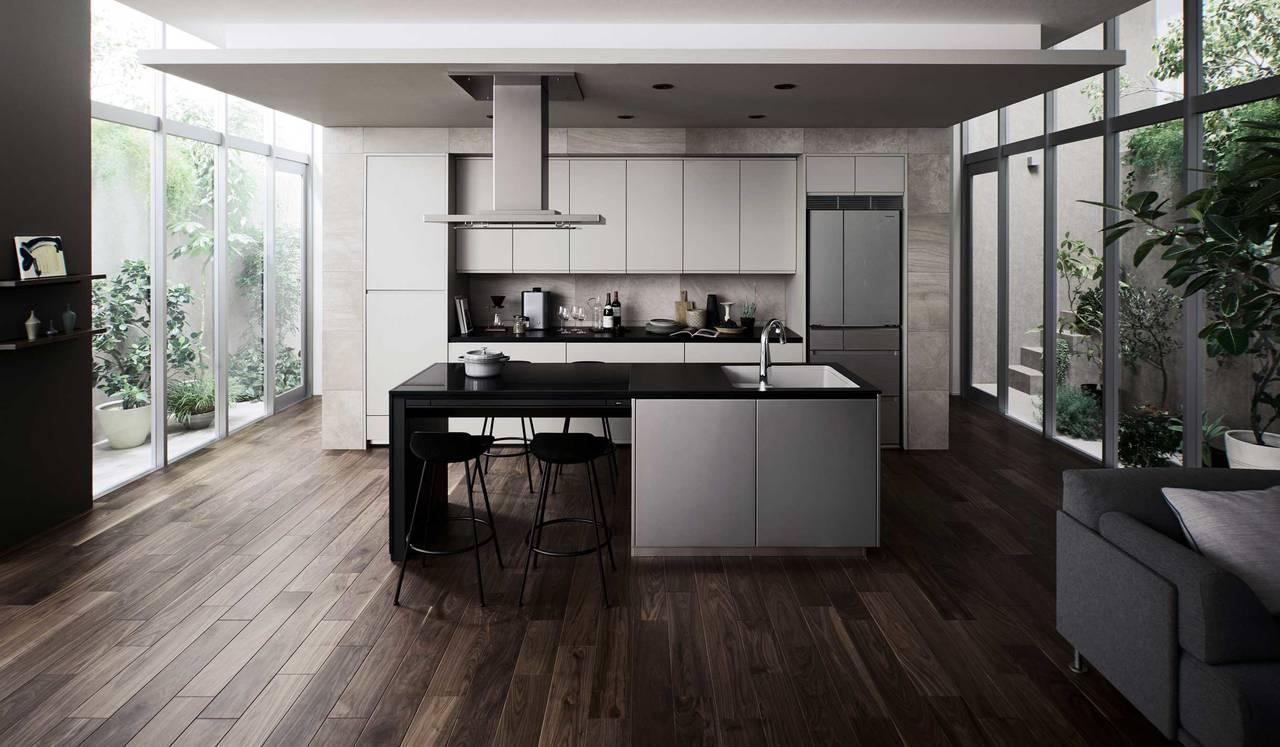 ひとが集う場所は住まいに豊かさを生む 最先端キッチン「いろりダイニング」 | Panasonic