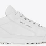 ホワイト&クリーン。サンローランの新作スニーカー「JUMP」|SAINT LAURENT