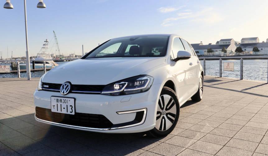 最新ゴルフのEV「e-Golf」に試乗|Volkswagen