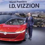 自動運転コンセプト「I.D. Vizzion」をワールドプレミア|Volkswagen