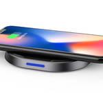 iPhone X やGalaxy S8を置くだけで充電。安全設計のワイヤレス充電器|TUNEWEAR