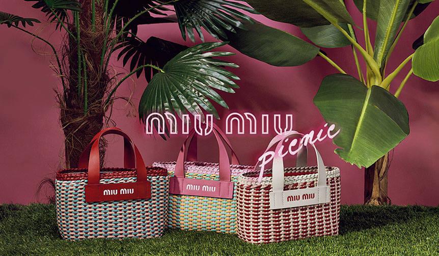 「ミュウミュウ ピクニック」ポップアップストアが全国3ヵ所で順次オープン|MIU MIU