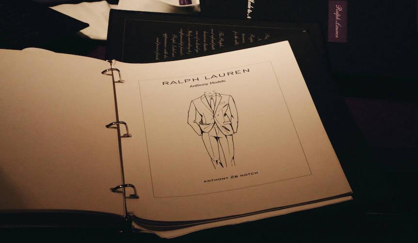 ラルフ ローレン パープル レーベルのメイドトゥメジャー|RALPH LAUREN PURPLE LABEL