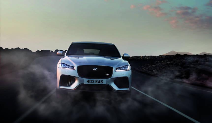 ジャガーFペイスに最上級グレードのSVRを設定|Jaguar
