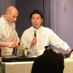 総料理長によるフレンチ料理の実演と食事会を開催|Joël Robuchon