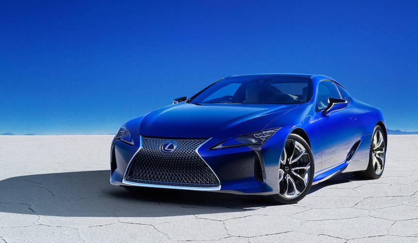 レクサス50万台を記念するLCの特別仕様車|Lexus